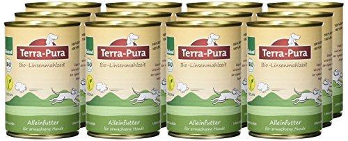 Terra Pura Bio Hundefutter Linsenmahlzeit 350 g, 12er Pack (12 x 350 g) - 2