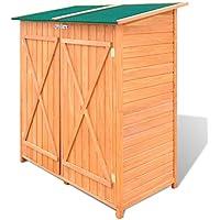 Zora Walter - Caseta de Madera para jardín o cobertizo con Cerradura para Puerta