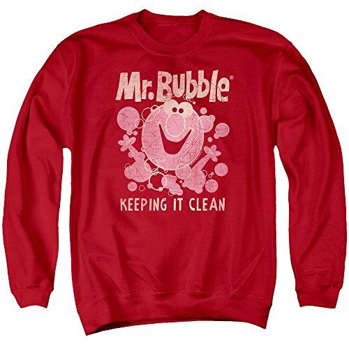 mr-bubble-felpa-uomo-red-medium