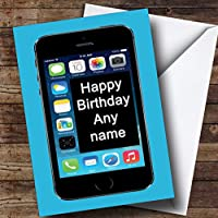 Funny Joke Iphone Mobile Phone Personalised Birthday Card