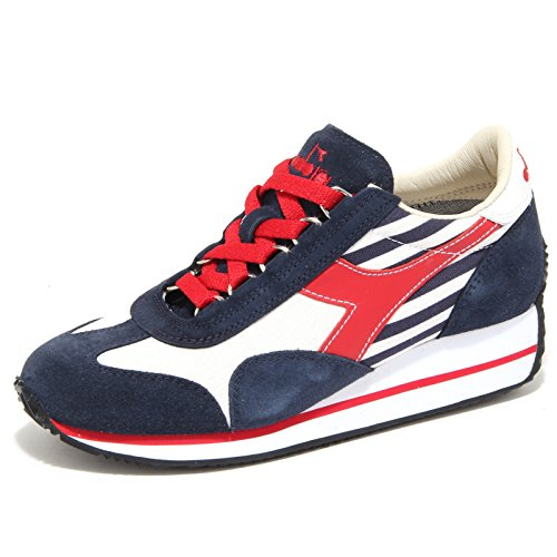 6137N sneakers donna DIADORA HERITAGE rosso/blu sneakers shoes woman Blu/Rosso