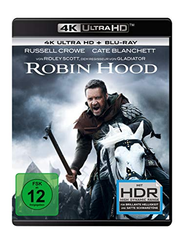 Robin Hood (4K Ultra HD) (+ Blu-ray 2D)