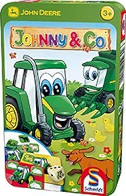 Schmidt - 51264 - Jeu De Voyage - John Deere, Johny & Co