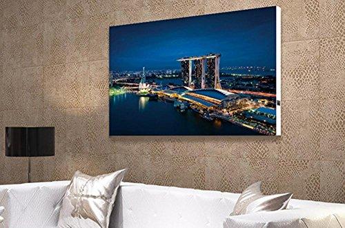 XYXY Incandescente LED luci fibra murale appeso pittura Home decorazione moderna su tela Wall Art . c . 30*30