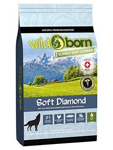 WILDBORN Soft Diamond mit frischem Alpenhühnchenfleisch 1,5 kg   getreidefreies Hundefutter für Hunde jeden Alters