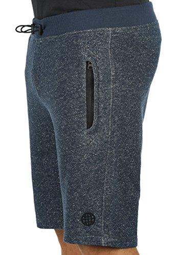 ... BLEND Rigins Herren Sweat-Shorts kurze Hose Sport-Shorts aus 100%  Baumwolle Navy ca74e7123d