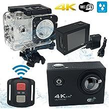 "LufraFIT - Action Camera My Cam 4 Ultra HD,4k@30fps, 2,4G RF, WI-FI, Screen 2,0"" 16MP"