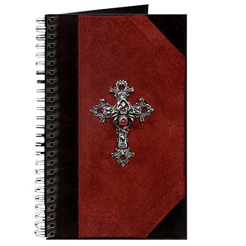 Kreuz-Spiralbindung Journal Notizbuch, persönliches Tagebuch, liniert ()
