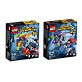 LEGO DC Super Heroes 2er Set Mighty Micros 76068 76069 Superman vs Bizarro + Batman vs Killer Moth