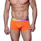 XUBA Trunk Boxer Slip Sous-vêtements Bref Homme 7 Couleurs Modal