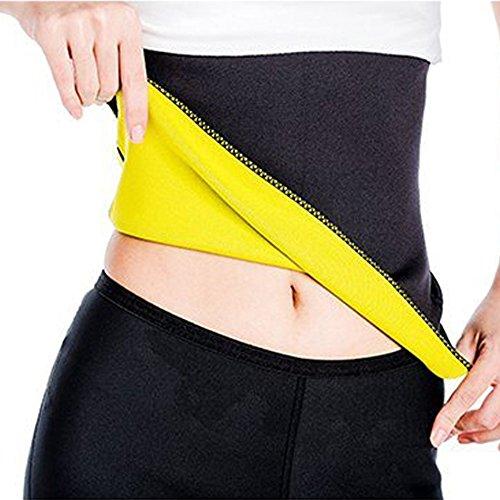 DODOING Unisex Hot Taillengürtel Taille Trimmer Body Shaper Gürtel Waist Cincher Taille Trainer Bauch Fitness Slimming Sport Girdle (Straps-gürtel Trim)