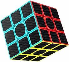 Cubo di Rubik, Gritin 3x3 Smooth Velocit Magico Cubo Puzzle e Tornitura Facile, Super Resistente con Vivido Cubo Colorato per Gioco di Allenamento del Cervello o Regalo di Festa