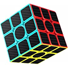 Cubo de , Gritin 3x3x3 Puzzle Cubo Mágico Inteligencia Mágico Cubo Rompecabezas y Fácil Giro, Súper Duradero para Brain Training Game para Regalo de Adulto para Niños