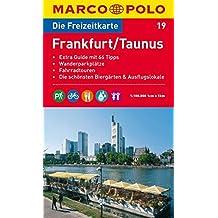 MARCO POLO Freizeitkarte Frankfurt, Taunus 1:100.000 (MARCO POLO Freizeitkarten)