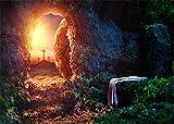 YongFoto 3x2m Cross Backdrop Jesus Weathered Mountain Cave - Best Reviews Guide