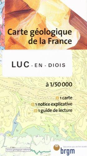 Carte géologique : Luc-en-Diois par Cartes BRGM