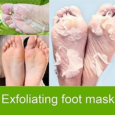 OMDOXS Fußschale Fußmaske Peeling
