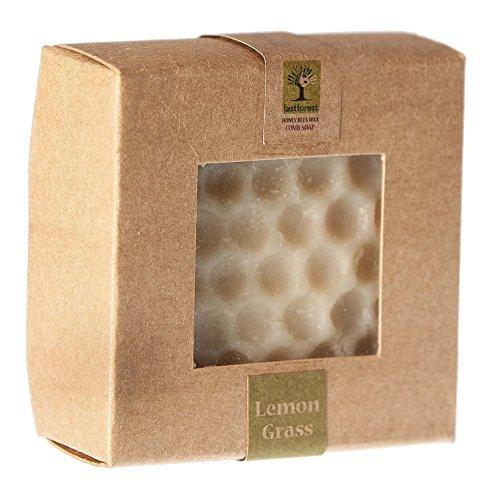 Dernière Forêt Herbe Abeille Cire De Citron Cailloux Peigne Savon Soins De Bain - 2,6 Oz
