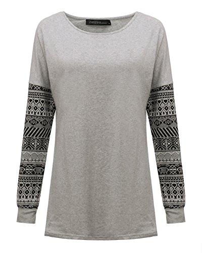 ZANZEA-Womens-Sexy-Casual-Autumn-Print-Loose-Long-Sleeve-Round-Neck-Tops-Blouse-T-Shirt