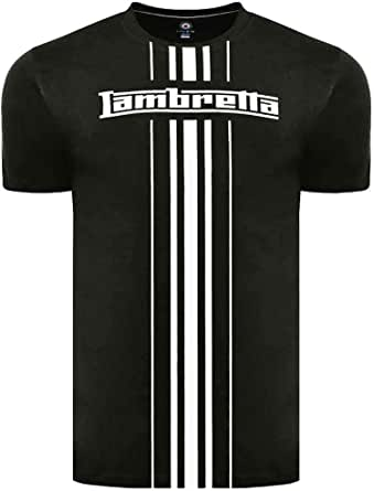 Lambretta Men's Waffle Scooter Badge Tee T-Shirt