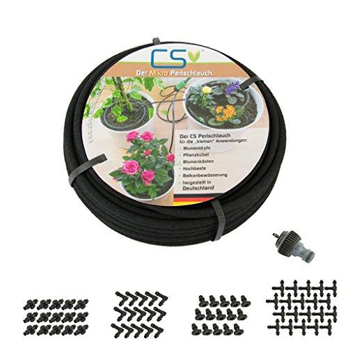 CS Mikro 15m Bewässerungs-Set Z3.00 Blumentopf, Pflanzkübel, Terrassen- und Urlaubsbewässerung