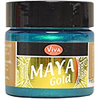 Viva Decor Maya Gold paint-petrol, Acryl-, türkis, Medium