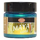 Viva Decor Maya Gold paint-petrol, Acryl-, türkis, Medium