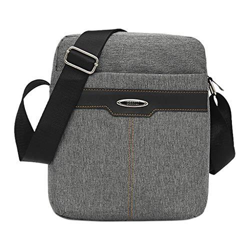 Prada Satchel Bag (Mitlfuny handbemalte Ledertasche, Schultertasche, Geschenk, Handgefertigte Tasche,Herrenmode Casual Rucksack Multi-Funktions-Business Messenger Schultertasche)
