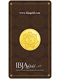 IBJA Gold 10 Gm, 24K (999) Yellow Gold Precious Coin