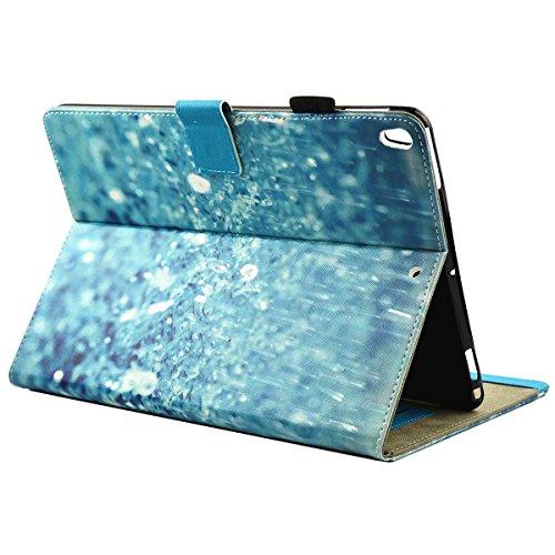 iPad IPad pro 10.5 Custodia per IPAD iPad pro 10.5 inch, inShang Smart Cover case in pelle PU, supporto per tenere L'iPad sollevato, magnetico per sleep e standby rain
