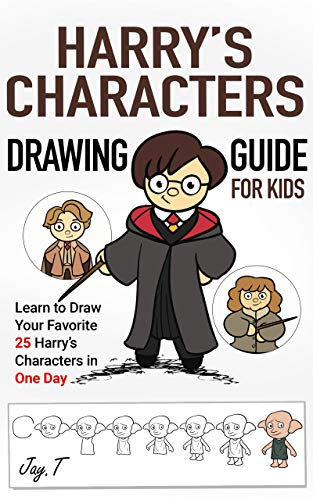 Harry's Characters Drawing Guide For Kids: Learn to