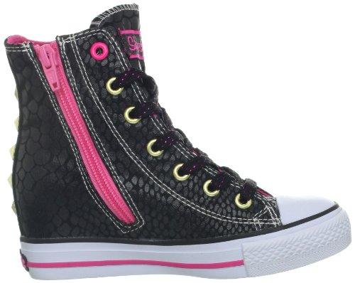 Skechers  GimmeMucho Dinero,  Sneaker bambina Nero (Schwarz (BKHP))