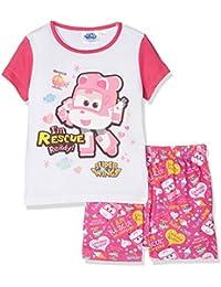 Disney Super Wing Qe2227-Fushia, Pyjamas Fille