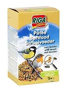 Riga Pâtée aux Insectes pour oiseaux 1 Kg - Lot de 2