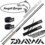 Daiwa Ninja X Feeder Feederrute mit Angel Berger Rutenband (3,90m / 50-150g)