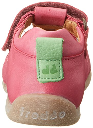 Froddo - Froddo Sandal G2150062, Scarpine primi passi Bimba 0-24 Rosa (Fuchsia)