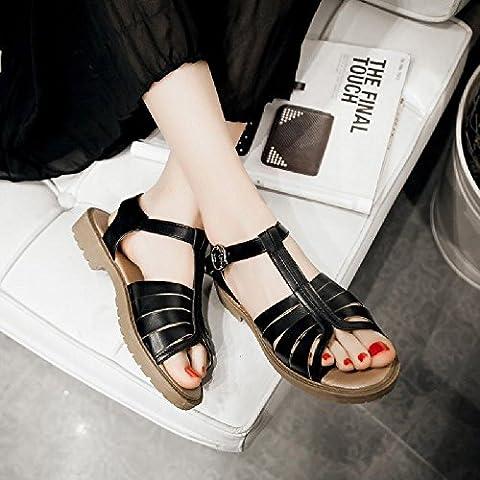 sandal MEIREN, Sandali donna nero nero US7.5/EU38/UK5.5/CN38
