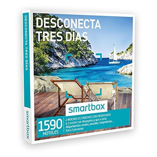 SMARTBOX – Caja Regalo – DESCONECTA TRES DÍAS – 1590 casas rurales, posadas… en España, Andorra, Portugal, Italia y Francia