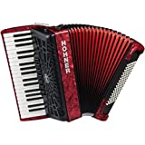 HOHNER BRAVO III 96 RED NEW