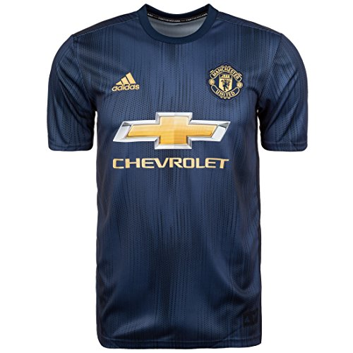 adidas Herren 18/19 Manchester United 3rd Trikot, Collegiate Night Navy/Matte Gold, 2XL - United Manchester