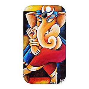 Gorgeous Ganesha Abstract Art Back Case Cover for Galaxy Grand Neo