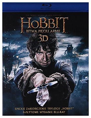 Le Hobbit: La bataille des cinq armĂŠes [2Blu-Ray]+[2Blu-Ray 3D] [Region B] (Sous-titres (Pace Lilly)