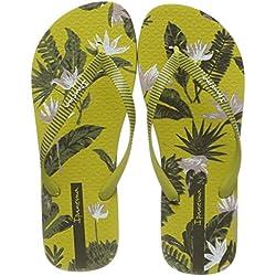 Ipanema I Love Tropical Fem, Chanclas para Mujer, Green 8550, 41/42 EU