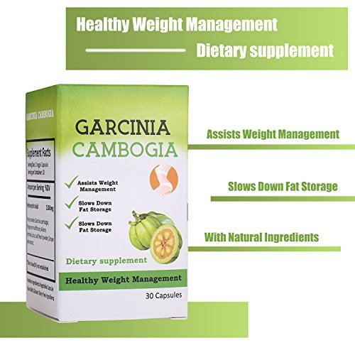 Garcinia cambogia appetite weight management capsules