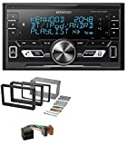caraudio24 Kenwood DPX-M3100BT 2DIN AUX MP3 Bluetooth USB Autoradio für Alfa Romeo 159 Spider Brera ab 05 Navi