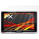 atFoliX Folie für Becker Professional.6 LMU Displayschutzfolie - 3 x FX-Antireflex-HD hochauflösende entspiegelnde Schutzfolie