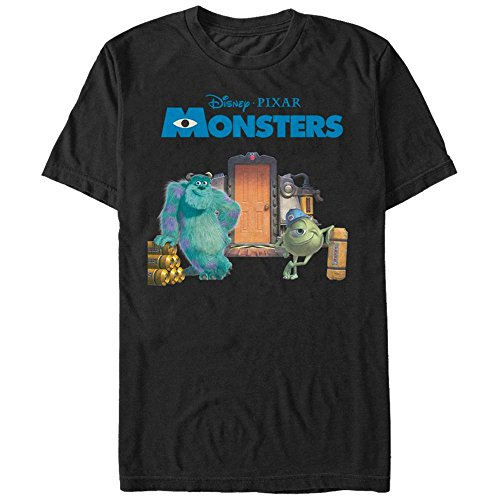 Pixar: Monsters Inc.- Relaxing By The Door T-Shirt L - (Shirt Inc Monsters T)