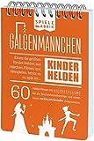 GALGENMÄNNCHEN   Errate 60 Kinder-Helden aus Märchen, Film usw.   der Spiele-Klassiker Neu aufgelegt   Ideales Geschenk für Kids   Reisespiel   Partyspiel   Handlicher A6-Block   Manufaktur-Qualität