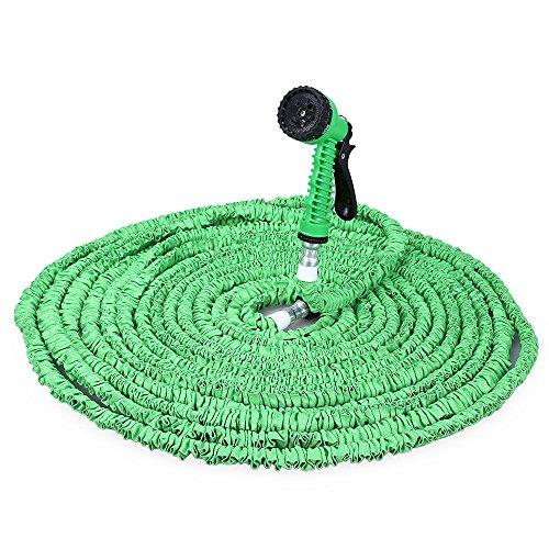 200FT Expandable Flexible Garden Schlauch Wasserpfeife 3x Erweiterung mit 7 Modes Spray Gun - Erweiterung Schlauch