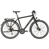 Bergamont Vitess 6.0 Herren Trekking Fahrrad schwarz/braun 2018: Größe: 56cm (178-186cm)